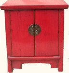 Lipstick red Shandong antique mini chest