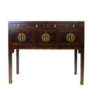 Chinese Console Sofa Table 37 Inch Wide