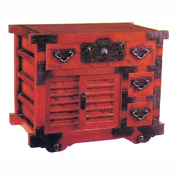 26.8 inch high wheel Tansu