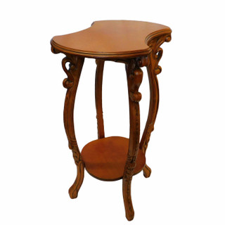 French Style Mahogany Pedestal Table