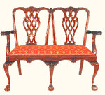Chippendale Two Seater Chair