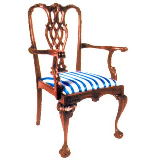 Stuart Chippendale Carver Chair