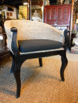 Rattan occasional arm chair