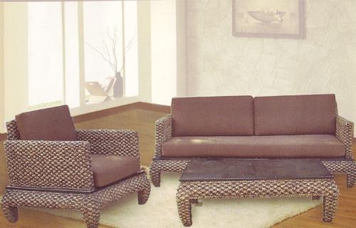 Modern Banana Leg Three Piece Living Room Set