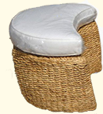 Southeast Asian Living Room Stool