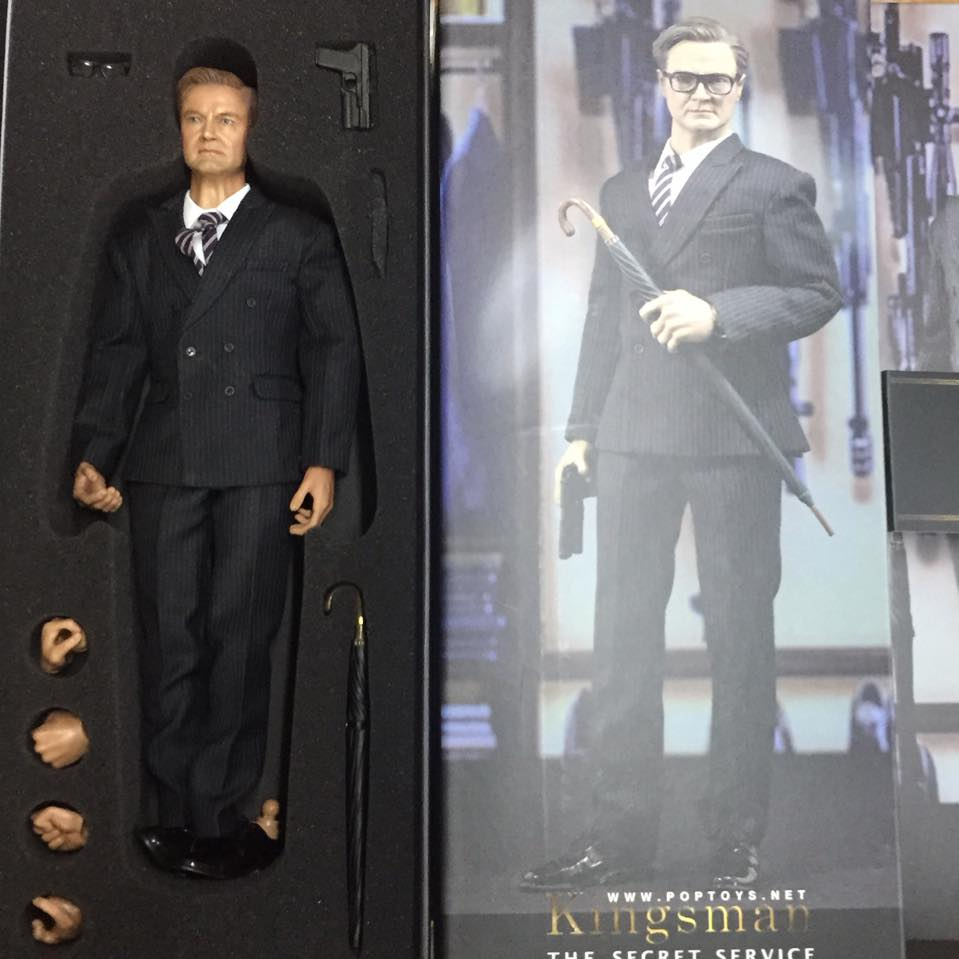 Toys For Gentleman : New arrival poptoys ex kingsman service whole boxed