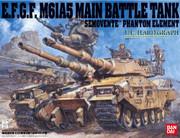 Bandai Gundam UCHG U.C. Hard Graph 1/35 M61A5 EFGF Main Battle Tank