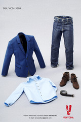 VERYCOOL VCM-3009 1/6 scale Blue Suit+ Jeans Set
