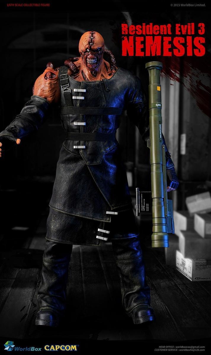 World Box Resident Evil 3 Boss 1 6 Nemesis Action Figure Kghobby