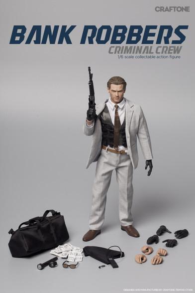 CRAFTONE 1/6 Heat Bank Robbers  - Criminal Crew Action Figure-Normal Ver.