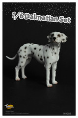 Toyscity TCM9003 1/6 Dalmatians Miniatures Dog set