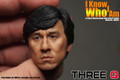 THREEQ Jackie Chan 1/6 Figure Head Sculpt