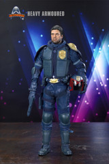 Art Figure AF-015B Special Version Heavy Armoured Special Cop in BLUE 1/6 Figure