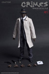 CRAFTONE Seven Morgan Freeman Crime-Senior Detective CT009 1/6 Action Figure