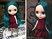 "Takara CWC 12"" Neo Blythe Doll Alexis Emerald"