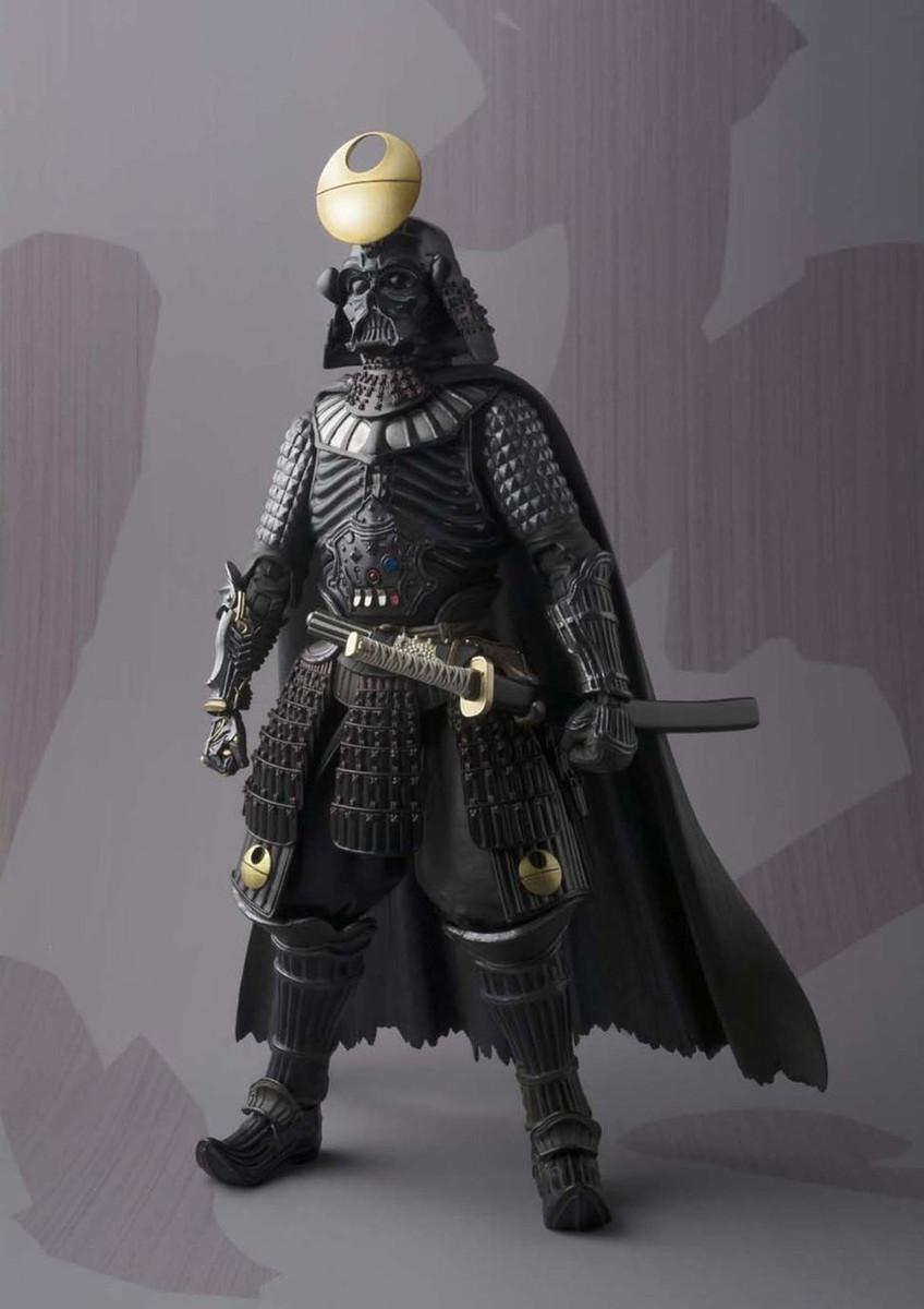 Bandai Movie Realization Samurai General Darth Vader Star Wars Action Figure