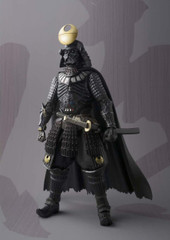"Bandai Tamashii Nations Meisho Movie Realization Samurai General Darth Vader ""Death Star Armor"" 7"" Action Figure"