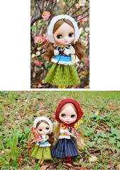 """Takara 8"""" NEO CWC Middie Blythe Doll Dainty Meadow"""