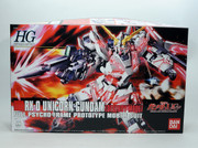 Bandai 1/144 HGUC Gundam RX-0 Unicorn Destroy mode Plastic Model 161011