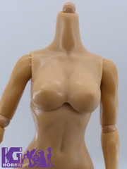 Kumik 1/6 Female/Girl Nude Muscular Body V 2.5 Pale Skin Tone