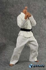 ZYTOYS 1/6 scale Karate/Judo/ Tae Kwon Do Gi Uniform