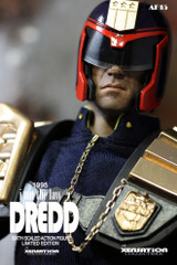 Xensation Collectible 1/6 Scale Dredd AF15 Action Figure