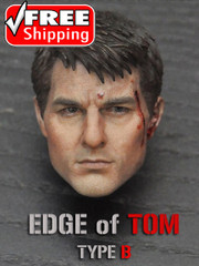 Brother Production Edge of TOM 1/6 Scale Head Sculpt Battle Damaged Ver