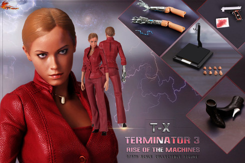 Hot Heart 1/6 FD002 scale T3  T-X collectible figure