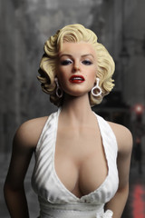 AS26 1/6 scale marilyn monroe actions figure Head & Evening Dress Set Ver. 2.0