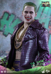 Hot Toys MMS382 Suicide Squad 1/6 Scale The Joker (Purple Coat Version) ACGHK 2016 Special Edition