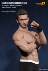 PHICEN Tbleague M33 1/6 Super flexible Male Seamless Body with Stainless Steel Skeleton