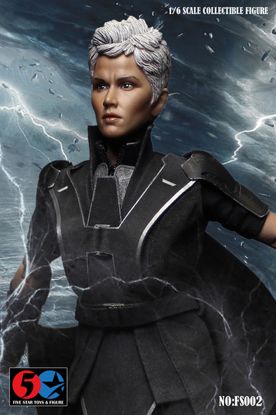 Pet zvezdic Fs002 Halle Berry X-Men Storm Manipulatorji za nevihto 16 Akcijska slika-7389