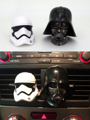 Star Wars 1/6 Scale Darth Vader & Stormtrooper Car Air Freshener Set