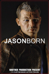 Brother Production Present 1: 6 Custom Made Action Figure: JASON BORN