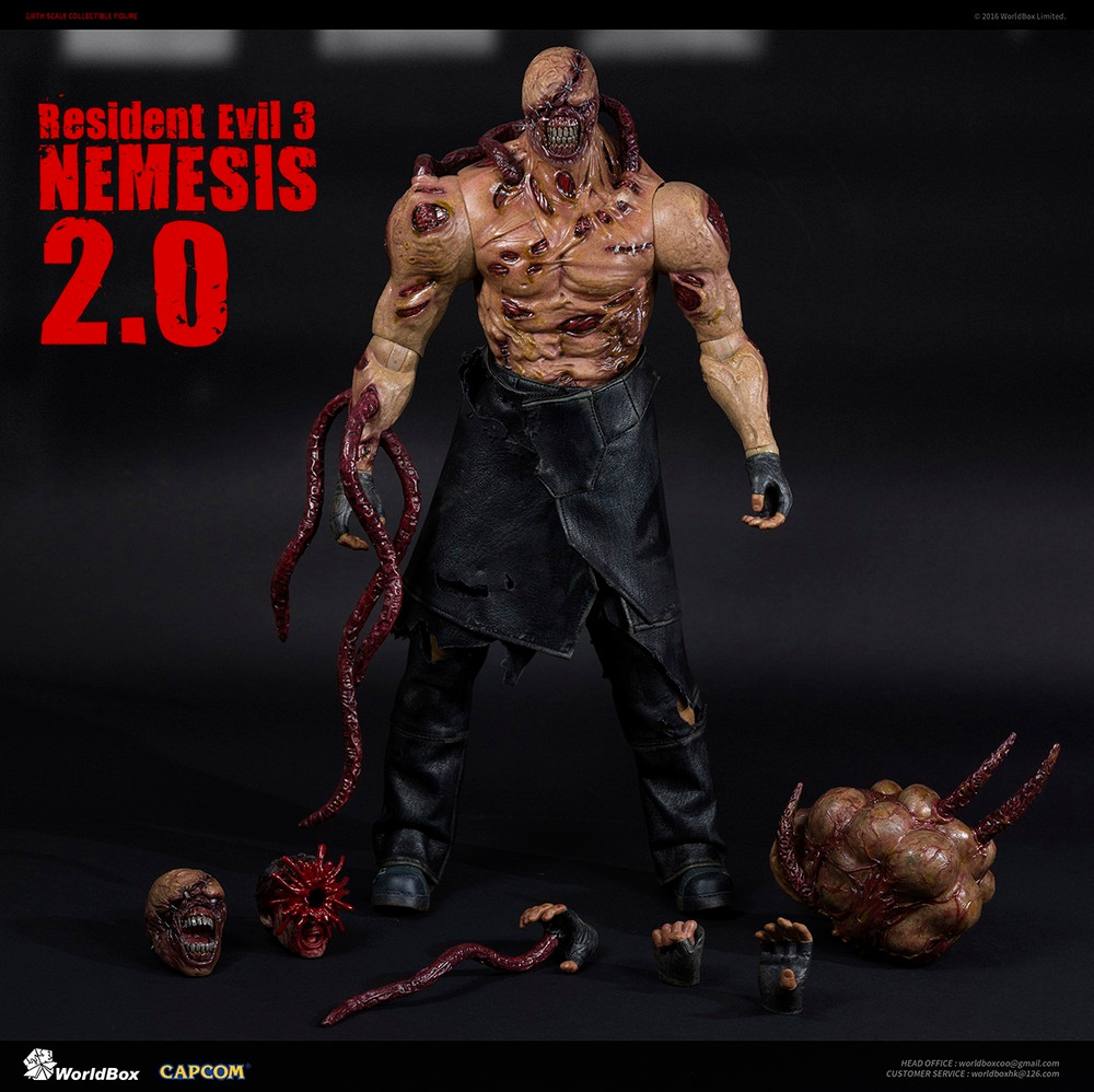 World Box Resident Evil 3 Boss 1 6 Nemesis 2 0 Action Figure