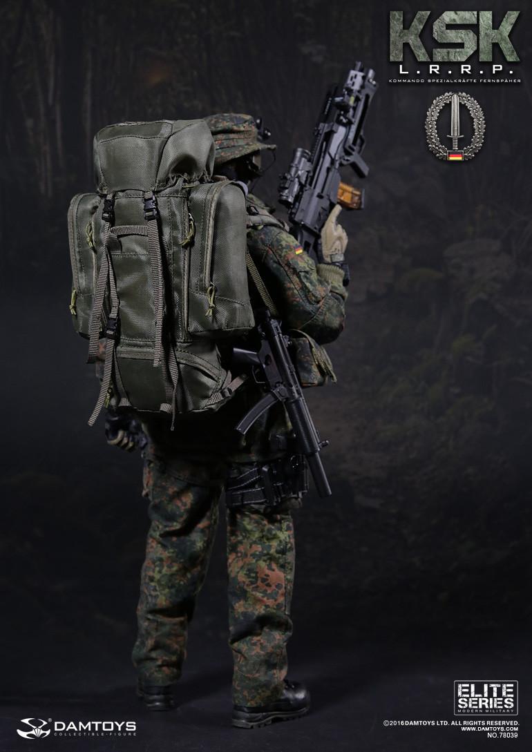"1//6 Scale DAMTOYS DAM 78039 KSK LRRP MP5SD6 Gun Modle For 12/"" Action Figure Toys"