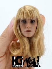 Custom 1/6 scale Female action figure head sculpt-Gwyneth Pepper