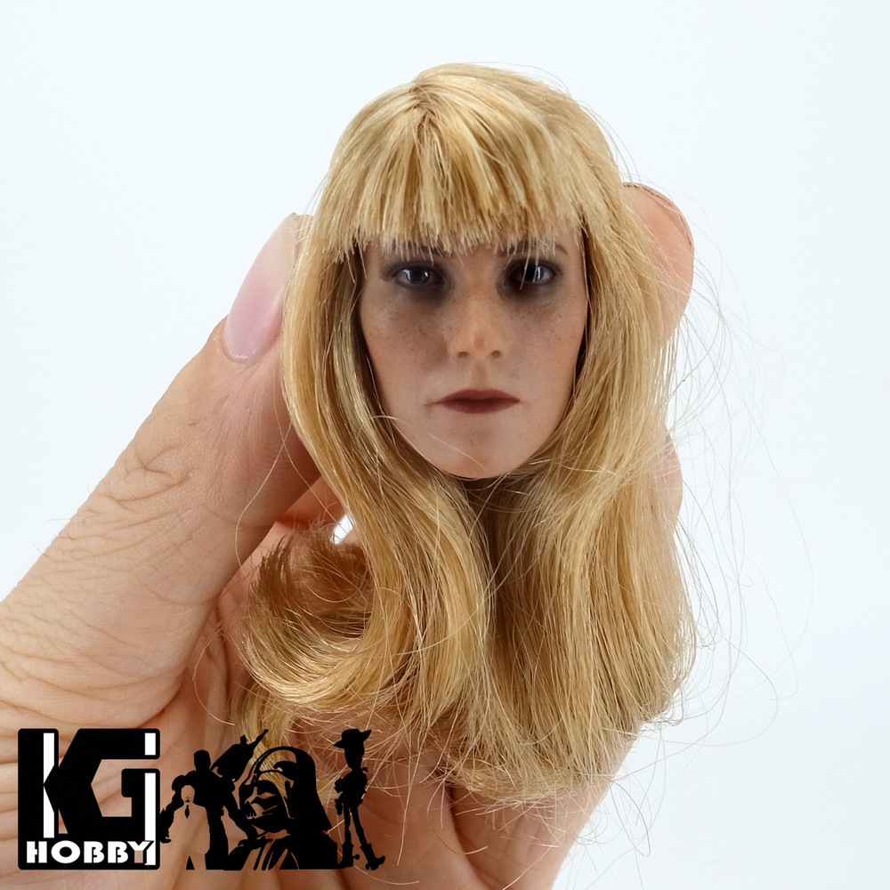 Custom 1 6 Scale Female Action Figure Head Sculpt Gwyneth Paltrow Image