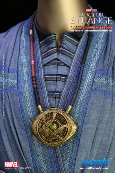Killerbody 11 Life Size Marvel Doctor Strange Eye Of Agamotto Necklace-4033