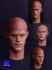 First Rate 1/6 scale Male Burned and Battle damaged action figure head sculpt Combo Set