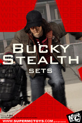 SUPERMCTOYS F-064 1/6 Scale Bucky Stealth Costume Sets