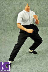 ZYTOYS 1/6 Bruce Lee Figure Outfits: The Big Boss Kung Fu Suit