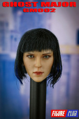 Figure Club 1/6 Scale Female Head Sculpt GM02 Ghost Major