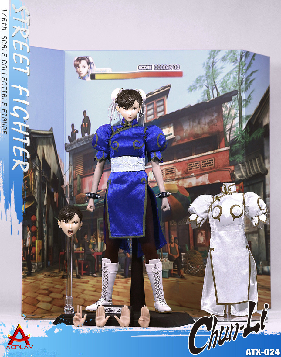 Chun-Li (Street Fighter, 1:6 Scale Figure) ACPLAY ATX024 | Toy Origin