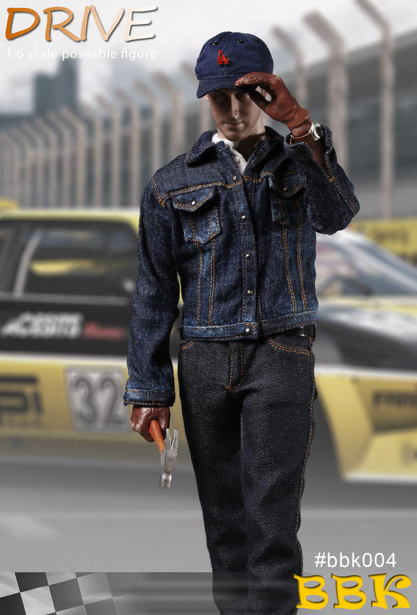 BBK Action Figures Drive Driver Ryan Sunglasses 1//6 Scale