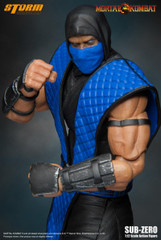 Storm Collectibles Mortal Kombat Klassic Vs. Series 1/12 Scale Action Figure - Sub-Zero