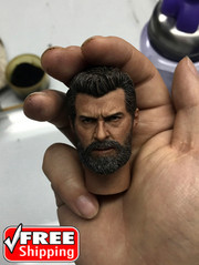 Burning Soul 1/6 Scale Hugh Head Sculpt