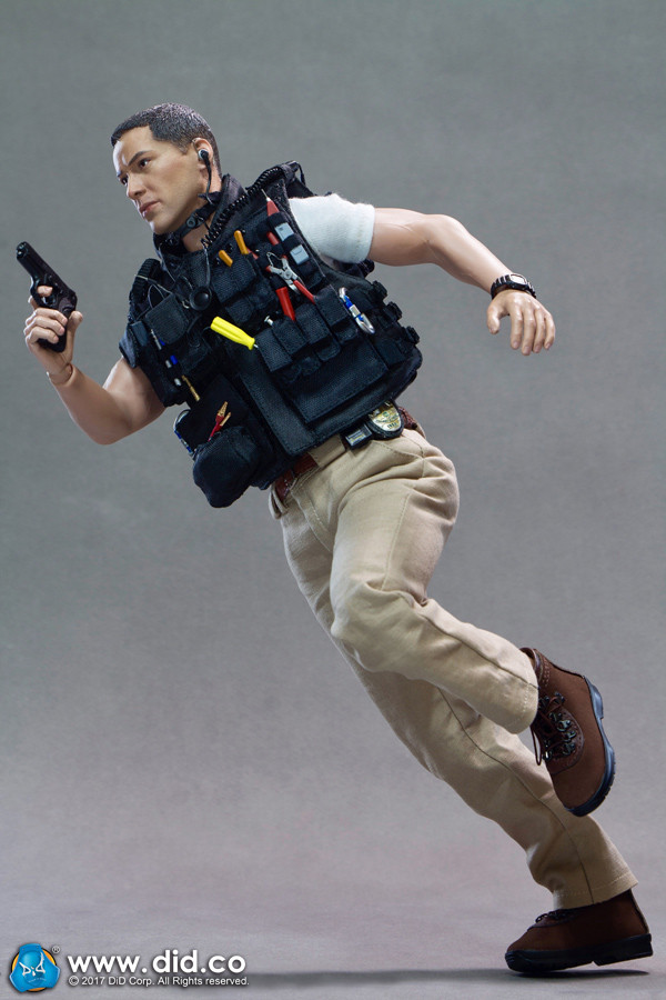 DID Action Figures 90/'s SWAT Kenny 1//6 Scale MP5 Submachine Gun