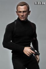 Eleven 1/6 Scale Agent 007 Head Sculpt and Costume set