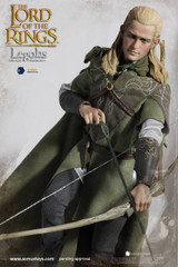 Asmus Toys The Lord of the Rings Series: Legolas 1/6 Action Figure Luxury Edition (LOTR010LUX)